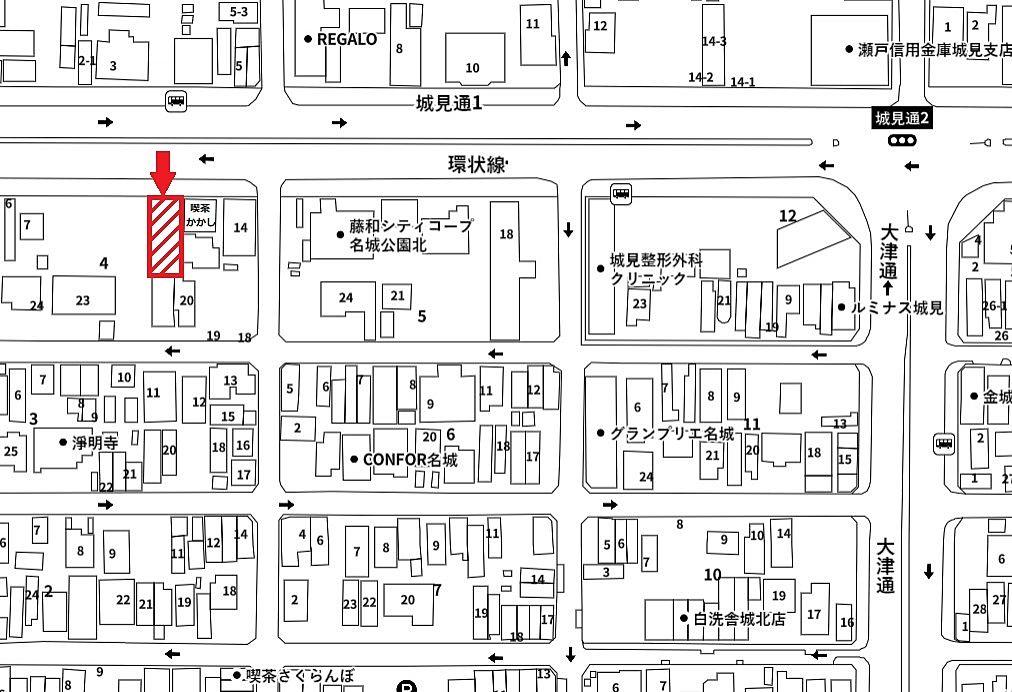 名古屋市北区金城二丁目、城見通沿いの駐車場空きます【東海住宅 名古屋】